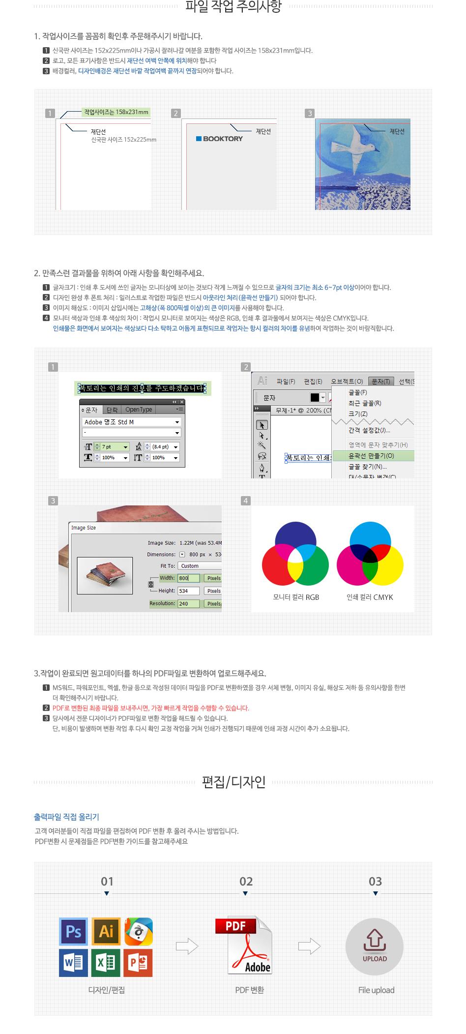 편집디자인 상품안내-북토리 표지 디자인 샘플표지 수정형, 서비스 가격 40,000원 부터